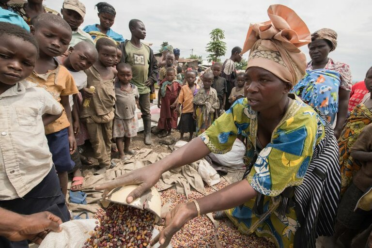 FN:s World Food Programme välkomnar att FN:s säkerhetsråd erkänner kopplingen mellan konflikt och hunger