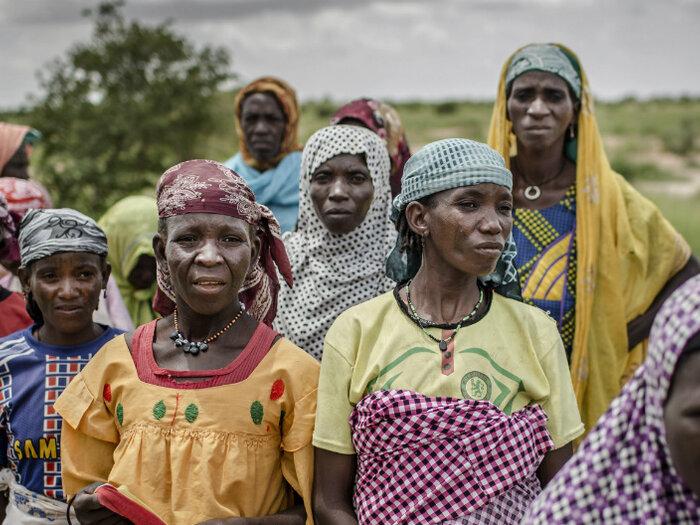 Kvinnor i Sahel området