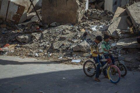 """""""Vi kan inte avskaffa hunger om vi inte får ett slut på konflikter"""""""