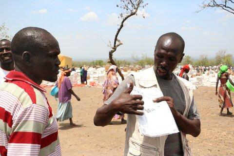 På frontlinjen med de som tvingades fly sina hem — Moses Oryema, Uganda
