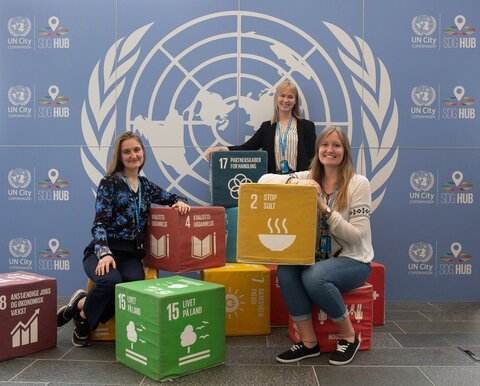 En dag i livet som praktikant hos FN:s World Food Programme