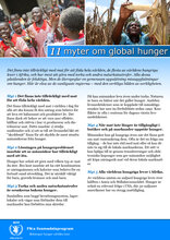 11 myter om global hunger