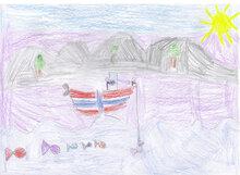 Teckningar till Molly från Norge