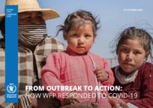 Från utbrott till handling: hur WFP svarade på COVID-19