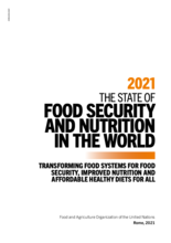 2021 State of Food Security and Nutrition in the World – Rapport och sammanfattning
